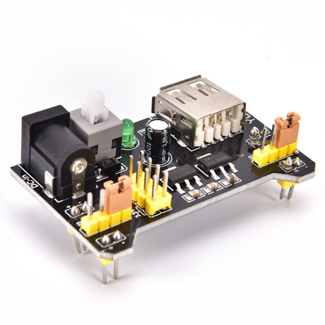 Breadboard Power Supply Module Shield 3.3V 5V For MB102 Solderless Bread Board U