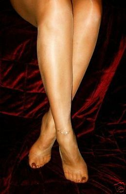 """REDUCED Shiny Glossy Designer Tights /""""Lynfa/"""" Colours and Sizes"""