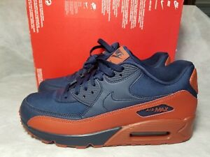 Details about New Nike Air Max 90 Essential Obsidian Mars Stone Men Size 7 Shoe 537384 425