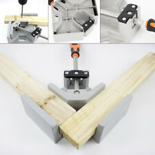 New Right Angle Clamp Woodworking Vise Wood Metal Welding Tool Steel Thread
