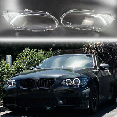 Before Facelift PAIR L+R Headlight Lens Covers Replacement for A6 // S6 C7 2011-2015