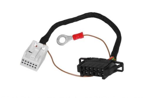 Original Kufatec Câble Adaptateur Connecteur 12 pin quadlock changeur de CD Pour VW Audi