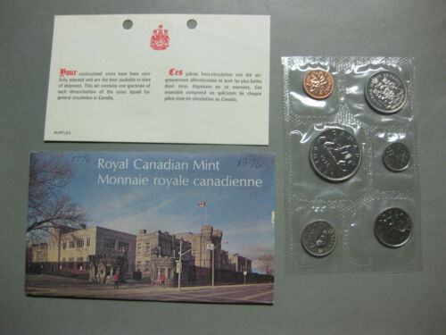 1976 Canada Prooflike Set incl Envelope and COA