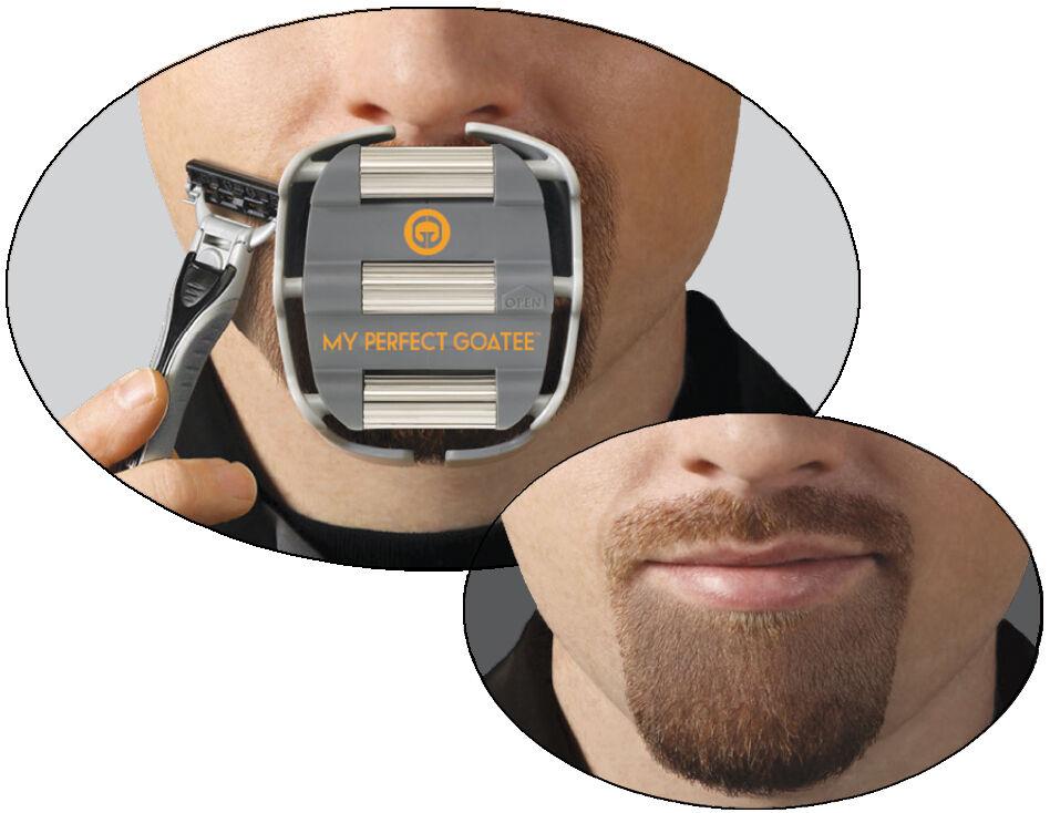 Goateesaver The Goatee Shaving Template Groom Shape Tool Men Beard