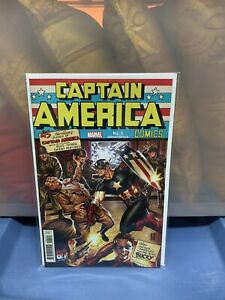 Captain America 80th Anniversary Tribute #1 2021 Hitler Variant & Main Cover