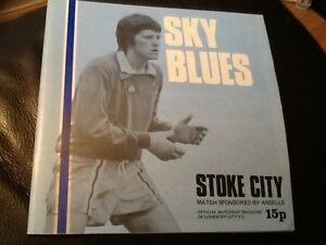 MINT-COVENTRY-CITY-F-C-V-STOKE-CITY-1977-Programme-Collectors-item