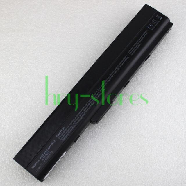 5200MAH BATTERY FOR ASUS A52 K42F K42JR K52 K52F K52J K52JB K52JC K52JR X42 X52