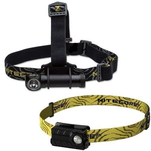 Combo: Nitecore HC30 1000 Lumen Headlamp XM-L2 LED w/ NU20 Rechargeable Rechargeable NU20 Headlamp 677274