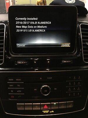 A2048272200 2019 Mercedes-Benz NTG4 V19.0 2019 COMAND NORTH AMERICA 2019