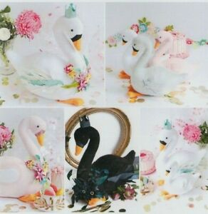 PATTERN-Swan-Party-cute-softie-toy-or-decoration-PATTERN-Ric-Rac