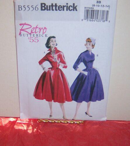 Butterick 5556 Misses/' Retro /'55 Dress /& Belt Pattern