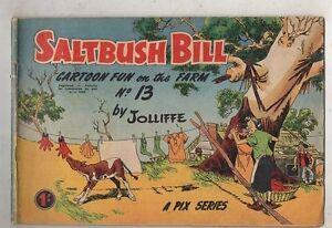 SALTBUSH-BILL-No-13-FINE-CONDITION-1950s-ORIGINAL-AUST-COMIC
