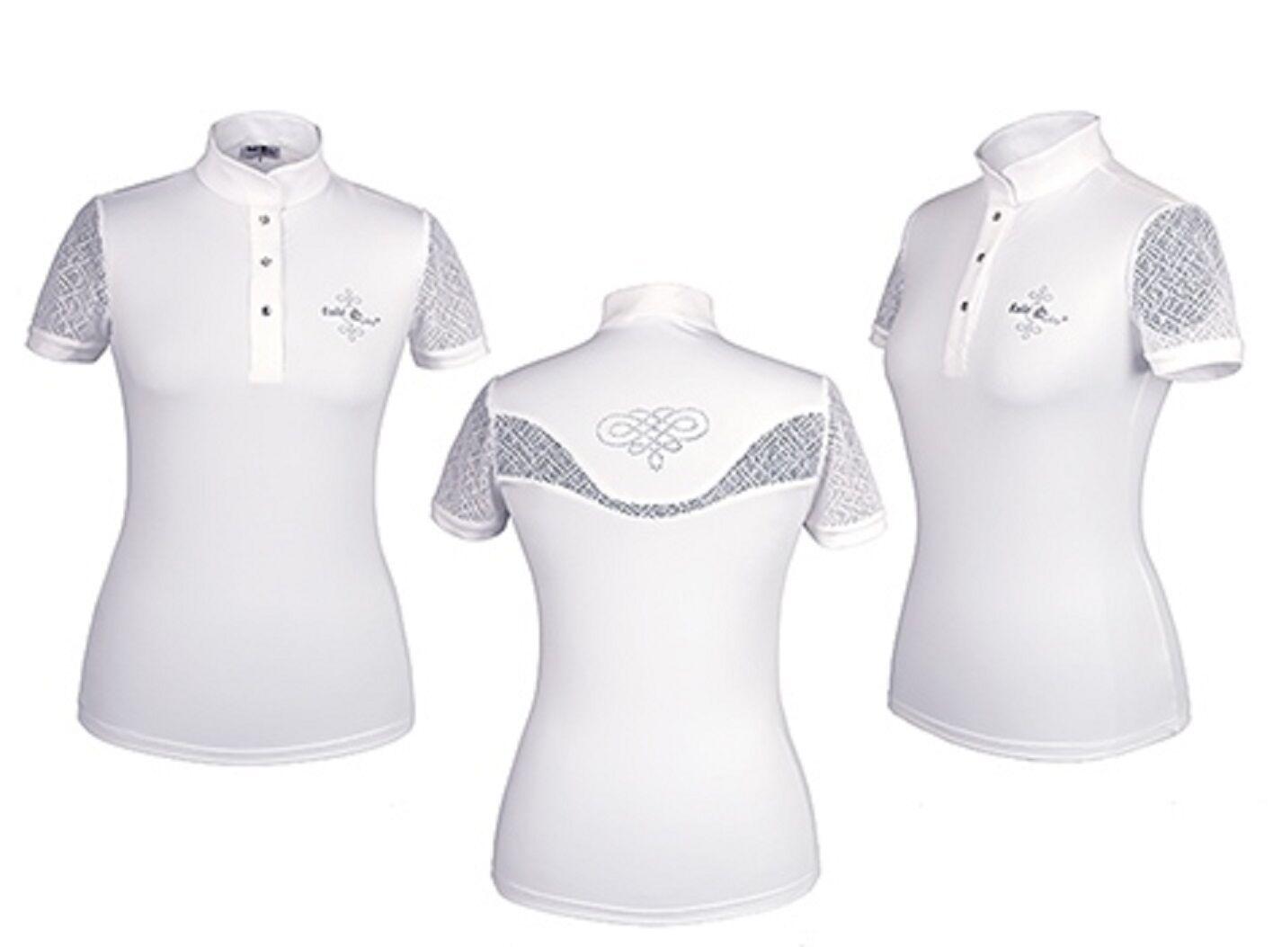 Fair Jugar torneo camisa torneo azulsa camisa show, cecile Weiss,  dif. tamaños nuevo  precios mas baratos