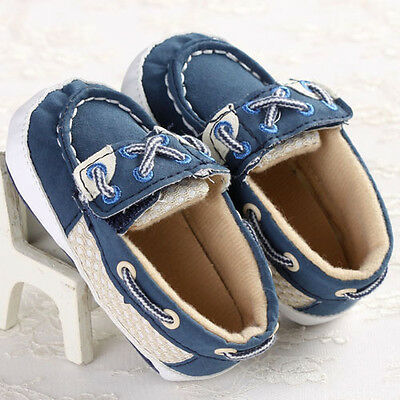 Lovely Sneakers Newborn Baby Crib Shoes Boys Girls Infant Toddler Soft Sole #BK