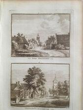 10 x Meliskerke 1792 Mariekerke Zeeland Grijpskerke Buttingen