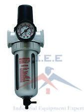 12 Combo Air Pressure Regulator Water Trap Particulate Filter For Compressor