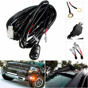 12v universal relay wiring harness w fuse and switch hid. Black Bedroom Furniture Sets. Home Design Ideas