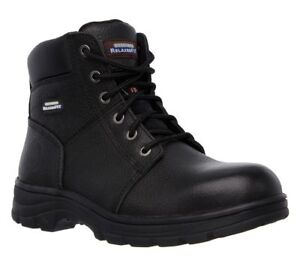 Facility Maintenance & Safety Clothing, Shoes & Accessories Skechers Work Relaxed Fit Workshire St Safety Boots 77009ec Mens Memory Foam