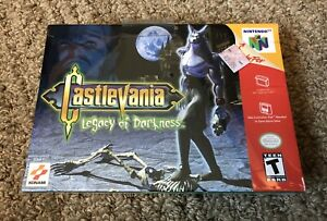 Custom Case Castlevania Legacy of Darkness Replacement Repo Cases N64 Game is not Included
