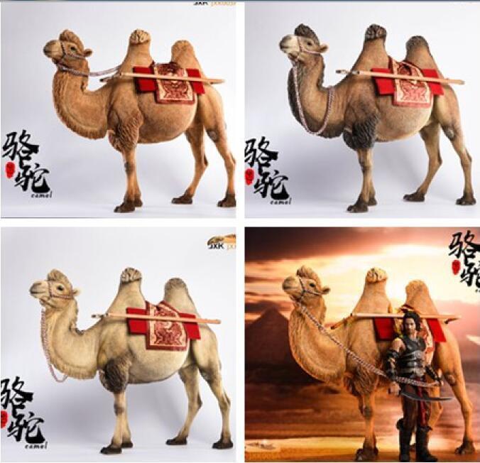 Jxk. Studio Jxk005 1 6 Camelus Camello bactriano Modelo Animal Muñeca de Juguete de ajuste 12