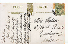 Genealogy Postcard - Family History - Holder - Newhaven - Sussex 7685