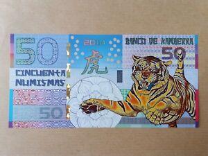Kamberra-50-Cinco-Numismas-2010-Tiger-UNC-A000006663