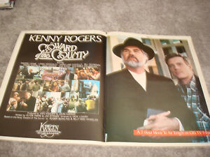 Kenny Rogers In Coward Of The County 1981 Emmy Ad Chariots Of Fire Oscar Ad Ebay