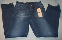 Levi's Women's Distressed Skinny Fit Stretch Jeans Sizes Petite Blue