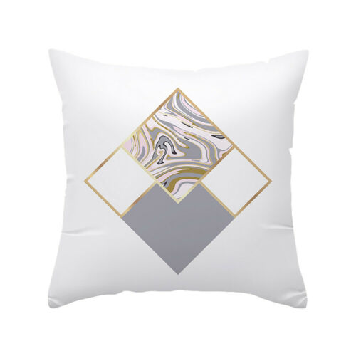 Geometric Marble Pattern Pillow Case Cushion Cover Nordic Style Home Decor Gift