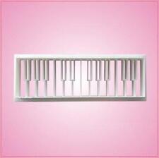 Embossed Piano Keys Cookie Cutter