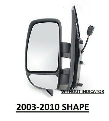 RENAULT MASTER 2003-2010 DOOWR WING MIRROR ELECTRIC 1 PAIR NEAR SIDE /& OFF SIDE