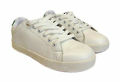 Mujeres Señoras Con Cordones Zapatillas Zapatos Deportivos Tenis Deportivas Informales Talla plana entrenador superestrella