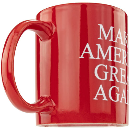 Conservative Trump Red White Coffee Cup Reelection Elephant Gift Party Novelty