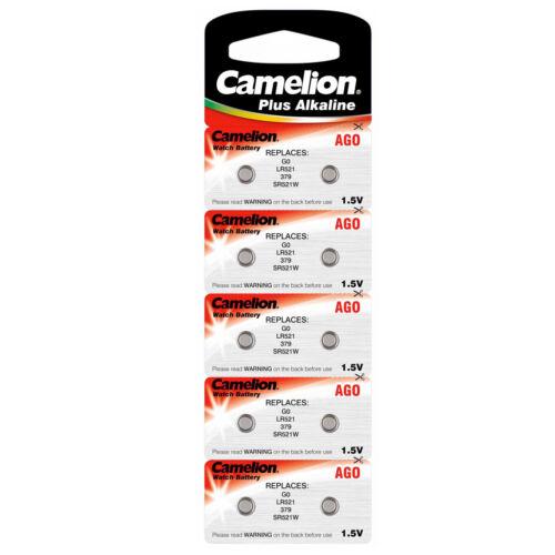 sr521 baterías pilas de botón ag0//521//379//sr521//d379//g0 20x tipo