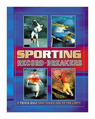 """AS NEW"" Lagoon Books, Sporting Record-breakers (Quiz Book) Book"
