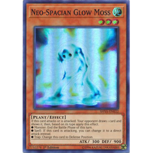 Super Rare x3 Neo-Spacian Glow Moss 1st Edition SHVA-EN032