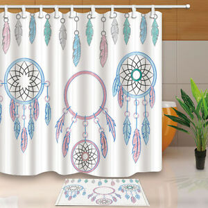 Image Is Loading Dream Catcher Shower Curtain Bedroom Decor Waterproof Fabric