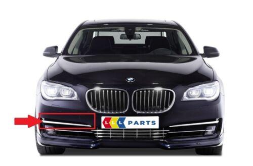 BMW NEW GENUINE 7 SERIES F01 F02 LCI FRONT BUMPER FOG LIGHT TRIM STRIP RIGHT O//S