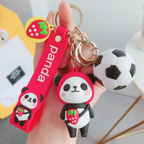 2020 New Panda Style 1pcs Keychain fob Key Chain Pendant Keyring For Gift Ins