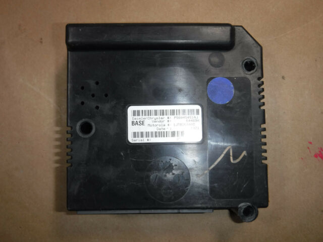 2001 2003 Dodge Dakota Central Timing Module B15 56045451aj