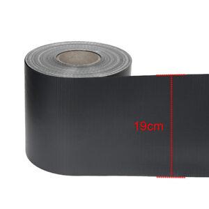 Details Zu 70m X 19cm Pvc Stein Sichtschutz Streifen Zaunfolie Doppelstabmatten Zaun Folie