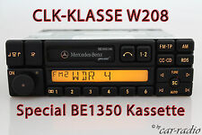 Original Mercedes W208 CLK-Klasse C208 A208 Special BE1350 Becker Radio Kassette