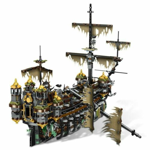 Pirates of the caribbean dead man tells no tales silent Mary buildng blocks ship