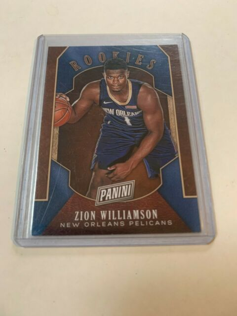 2019 Panini Black Friday Zion Williamson Rookie #RC1 New Orleans Pelicans RC