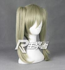 SOUL EATER Maka Albarn Anime Costume Cosplay Wig +2 Ponytails +Track NO + Cap