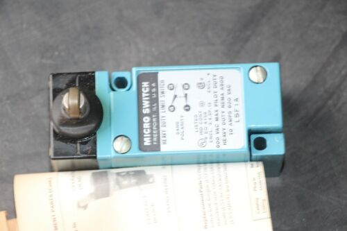 HONEYWELL MICROSWITCH LSF1A TYPE LIMIT SWITCH 600VAC 10AMPS RDS