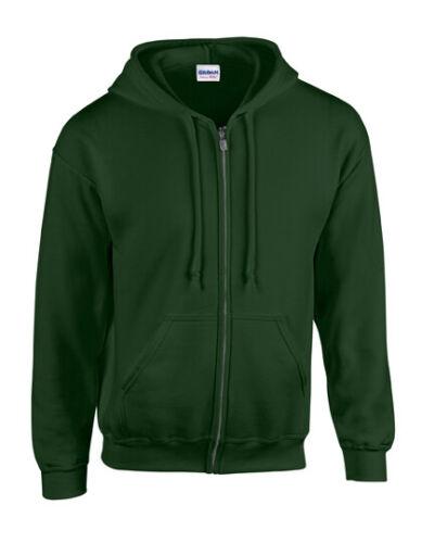 Gildan Heavy Blend Full Zip Hooded Sweatshirt