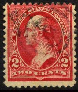 Etats-Unis 1894 Sc. 250 Oblitéré 80% Washington