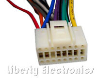 16 Pin Wire Harness For Alpine Cda-d852 / Cda-d853 / Cda-d855