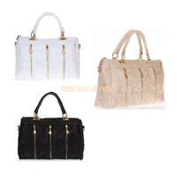 Fashion Women Shoulder Canvas Bag Satchel Crossbody Tote Handbag Purse Messenger